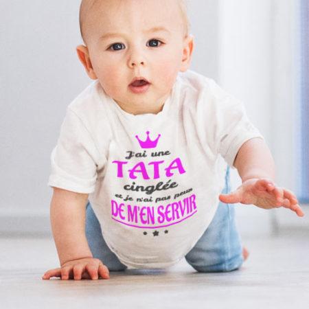 Retrouvez tous nos T-shirts Bébé
