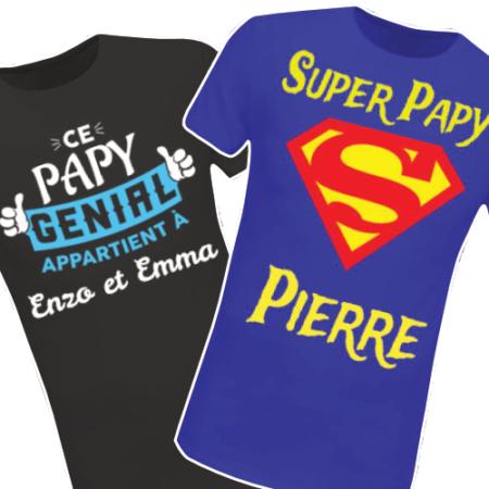 Retrouvez tous nos T-shirts La Famille