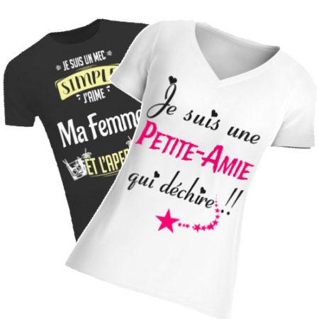 Retrouvez tous nos t-shirts Femme