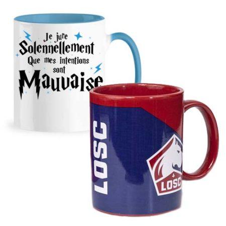 Retrouvez tous nos Mugs Licences