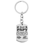 porte clé – bientot papy gamer blanc